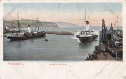 AP75 Folkestone, Arrival Of The Boat - Folkestone