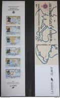France - Carnet Personnages Célèbres - 1988 - YT BC2523 - Marins Explorateurs - Personnages