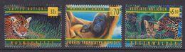 UNO NY, Geneva, Vienna 1998 Rainforests 3v ** Mnh (36900G) - Gezamelijke Uitgaven New York/Genève/Wenen