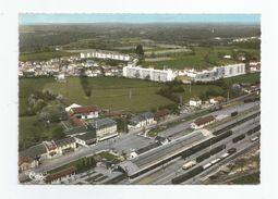 65 - Lannemezan Vue Aérienne Gare 1969 - Lannemezan