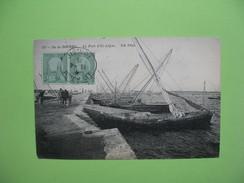 CPA  - Ile De Djerba  -  Le Port D'El-Adjim   1915 - Tunisia