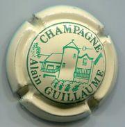 CAPSULE-CHAMPAGNE GUILLAUME Alain N°12 Crème & Vert - Champagnerdeckel