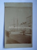 TRIESTE Vecchia Cartolina VELIERO Canale Ponterosso - Trieste