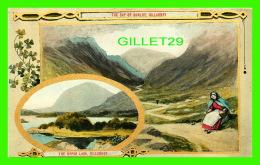 KILLARNEY, IRLANDE - THE GAP OF DUNLOE - THE UPPER LAKE - ANIMATED -  VALENTINE, DUBLIN - - Kerry