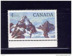 CANADA 1982, # 934, MNH, HIGH-VALUE NATIONAL PARKS, DEFINITIVES: GLACIER PARK - 1952-.... Règne D'Elizabeth II