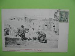 CPA  -  Tatahouine - Ksar-Deghaghra  1910 - Tunisia