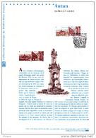 """"""" AUTUN """" Sur Document Philatélique Officiel De 2011 . N° YT 4552. Parf. état. DPO - 2010-...."""