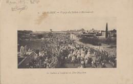 Maroc - Voyage Du Sultan à Marrakech - Cortège Sultant Se Rendant Au Dar-Magzben - 1917 - Marrakesh