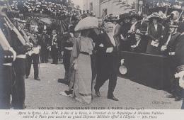 Evènements - Réception Roi Reine Belgique Paris - Président Fallières - Militaire - Histoire - Réceptions