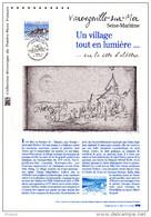 """(Prix à La Poste = 5 €) Document Philatélique Officiel De 2011 """" VARENGEVILLE-SUR-MER """". N° YT 4562. Parf. état. DPO - 2010-...."""
