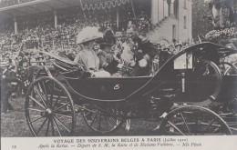 Evènements - Réception Roi Reine Belgique Paris - Président Fallières - Militaire - Histoire - Tribunes - Réceptions