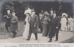 Evènements - Réception Roi Reine Belgique Paris - Président Fallières - Militaire - Histoire - Versailles - Réceptions