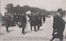 Evènements - Réception Roi Reine Belgique Paris - Président Fallières - Militaire - Histoire - Versailles - Recepciones