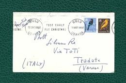 UGANDA 1967 - Busta Viaggiata Dall'Uganda All'Italia Con 2 Francobolli Del 1965 - Uganda (1962-...)