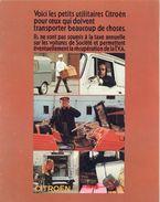 Citroën. Catalogue 1971 Des Petits Utilitaires. Citroën 250 & 400, Méhari, Ami 8 Service. 8 Pages Couleur - VR_C4_20 - Automobile