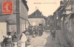 28 - EURE ET LOIR / Brezolles - 281222 - Le Marché à La Volaille - Beau Cliché Animé - Francia