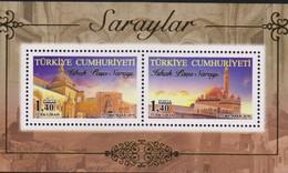O) 2016 TURKEY, ISHAK PASHA PALACE- ARCHITECTURE 1685, SOUVENIR MNH - 1921-... Republic
