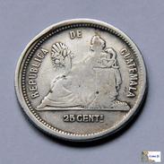 Guatemala - 25 Centavos - 1882 - Guatemala