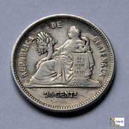 Guatemala - 25 Centavos - 1890 - Guatemala