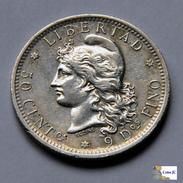 Argentina - 50 Centavos - 1883 - Argentine