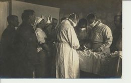 AK Operation Im Kriegslazarett 132 - Oorlog 1914-18