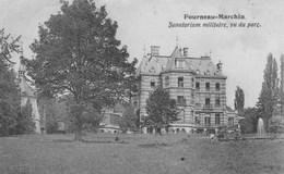 Fourneau -Marchin.  Sanatorium Militaire, Vu Du Parc.+scan - Belgique