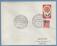 Bureau Temporaire BT Paris Institut Int. De La Soudure 1965  / N° 1430 + 1352 - Postmark Collection (Covers)