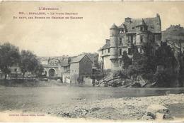 Espalion - Le Vieux Château - En Haut Les Ruines Du Château De Calmont - Espalion
