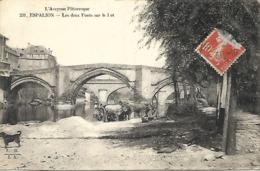 Espalion - Les Deux Ponts Sur Le Lot ( Aveyron Pittoresque) - Espalion