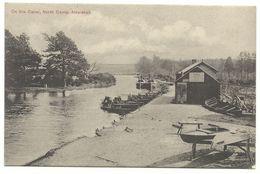 Aldershot On The Canal Noth Camp 1907 Nach Weinheim - England