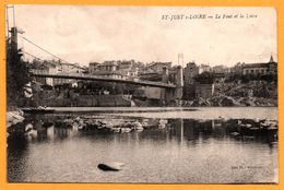 Saint Just Sur Loire - Le Pont Et La Loire - Edition VIAL BURALISTE - Saint Just Saint Rambert