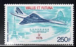 WALLIS Et FUTUNA -  PA N° 71 ** (1976) CONCORDE - Airmail