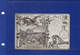 ##(003)  -POSTCARDS - Italia -  Cartolina  Distretto Militare Di Spoleto - Nuova - Regimenten