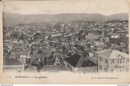 CPA - Liban - BEYROUTH. - Vue Générale - M. I. Corm Et Cie, Beyrouth. Lévy Fils Et Cie, Paris - Lebanon
