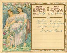 3/ BELGIQUE / RÉGIE DES TÉLÉGRAPHIES ET DES TELEPHONES Télégramme 1915 - Manuskripte