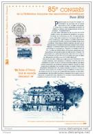""""""" PARIS 2012 / MUSEE D'ORSAY """" Sur Document Philatélique Officiel 1er Jour De 2012. N° YT 4678. Parfait état. DPO - 2010-...."""