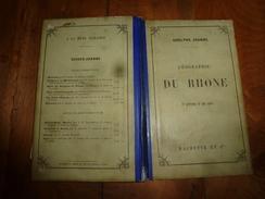 1895 RHÔNE: -->LYON (Quai St-Clair Et Fulchiron,Pont-Morand,La Manecanterie,Eglise D'Ainay ),Ile-Barbe,Villefranche,etc - Livres, BD, Revues