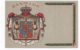 WAPPEN LITHO   DÄNEMARK     ~ 1910 - Denmark