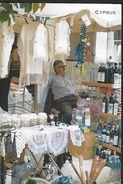 ! -  Chypre - Omodos - Articles De Production Locale En Vente Dans Une Rue - Chypre