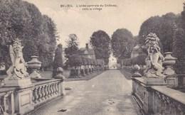 Beloeil, L'allée Centrale Du Château Vers Le Village (pk39293) - Beloeil