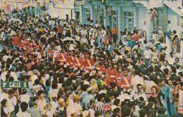 Honduras Carnaval Ceibeno Banda Colejio San Isidro