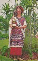 Guatemala Miss Universe 1975 Miss Guatemala First Prize Native C