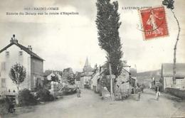 Saint Come - Entrée Du Bourg Sur La Route D' Espalion (L' Aveyron Pittoresque) - France