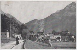 AK - Dorfstrasse Nach GOLLING 1921 - Golling