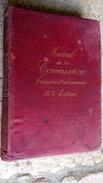 COURSIER 1892 MANUEL De La CONVERSATION Française Et Allemande HANDBUCH Der Französischen Und Deutschen Sprache CAUSERIE - Livres, BD, Revues