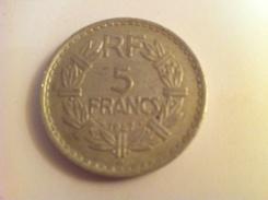 5 Francs Lavrillier - J. 5 Francs
