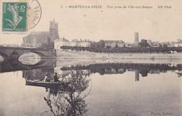MANTES LA JOLIE VUE PRISE DE L'ILE AUX DAMES/COLLECT. PAYER TABAC (dil131) - Mantes La Jolie