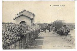 ARCHIAC - La Gare - TRAIN - Non Classés
