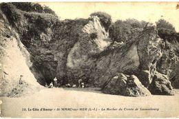 CPA N°10149 - SAINT MARC SUR MER - LE ROCHER DU COMTE DE LUXEMBOURG - Saint Nazaire