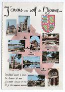 Yonne-1967-Multivues Sens,Joigny,Tonnerre,Auxerre,Avallon....blason - France